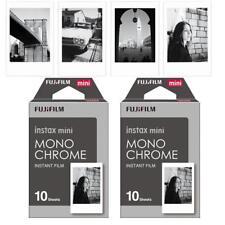 20films Instax mini Monochrome Film for Fuji Mini 7s 8 9 25 50 90 Camera