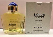 Tester Men JAIPUR Pour Homme by Boucheron 3.3 oz / 3.4 oz edt Cologne NEW