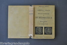 Manuali Hoepli Grecia Roma Italia Gnecchi Ambrosoli Numismatica 1922