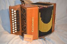Castagnari 'Clovis' D/G Melodeon with straps and carry backpack
