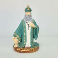 Holland Mold Kneeling Wiseman King Frankincense Christmas Nativity Figurine