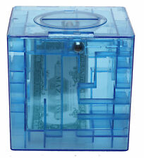 Maze Money Coin Cash Honeycomb Puzzle Box Save Piggy Bank Translucent Kids Gift