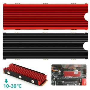 Thermal Pad Aluminum Heatsink M.2 Cooling Cooler Fan For NGFF NVME PCIE 2280 SSD