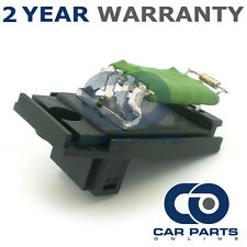 FOR FORD FOCUS MK1 1.6 PETROL (1998-2005) HEATER BLOWER MOTOR FAN RESISTOR