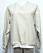 Forrester Ladies Light Khaki Performance Outerwear Wind Golf Slip Over Sz SMALL