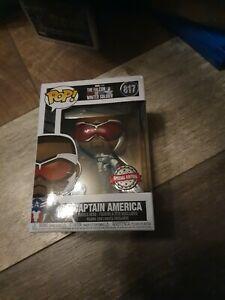 Captain America Funko Pop Vinyl The Falcon Winter Soldier 817 Special Edition