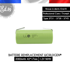 2000mAh Replacement Battery Oral B Professional Care Triumph 3731 3738 3745