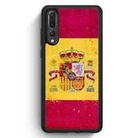 Huawei P20 Pro SILIKON Hülle Spanien Grunge Espana Spain Motiv Design Handyhüll