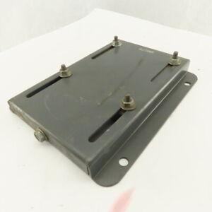 Dayton 3M278 NEMA Motor Fame 145 Adjustable Mounting Slide Plate