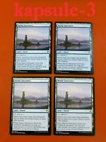 4x Mystic Sanctuary | Throne of Eldraine | MTG Magic Cards