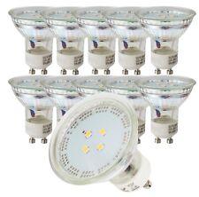 10x LED Leuchtmittel GU10 1Watt tageslichtweiß 6500Kelvin Spot Leuchte Downlight