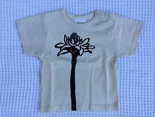 Sckoon Cream Fig Tee Size 6-12 Mth, 1-2 Yrs 100% Organic Cotton Xmas Gift Unisex