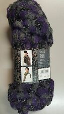 Sirdar Spellbound Brushed Lace Scarf Yarn with FREE PATTERN #12 Purple Grey