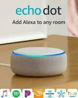 Amazon Echo Dot (3rd Generation) Smart Speaker with Alexa - Sandstone