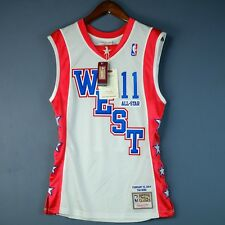 100% Authentic Yao Ming Mitchell & Ness 04 All Star Jersey Size Mens 36 S Small