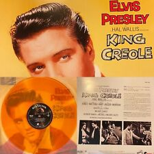 Elvis Presley - King Creole Translucent Orange Colored Vinyl