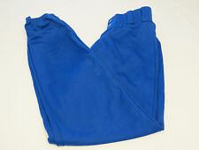 Alleson Athletic Adult M baseball softball Pull up Pant 1 pair blue Nos Nwot