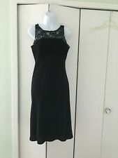 Jones New York Black Lace Cocktail Dress - Size 6