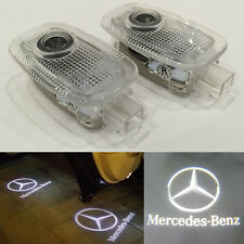 2x Ghost LED Door Step Courtesy Laser Shadow Light for Mercedes-Benz S W221 W216