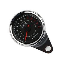Universal Motorcycle LED Backlight Tachometer Speedometer Tacho Gauge 13000 RPM