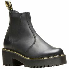 0bdbb170ab3d Dr. Martens Rometty Black Wyoming Womens Chelsea Boot Size 9m