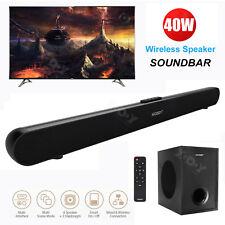 Sound Bar Wireless 3D Surround Home Theater TV Speaker Bluetooth Soundbar Remote