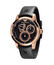 Emporio Armani Men's AR4619 Meccanico Automatic Quartz Watch with Black Dial