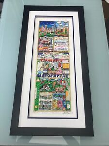 """Charles Fazzino """"Rich on Real Estate"""" 3-D Art Signed & Numbered Deluxe Edition"""