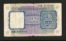 [NC] REGNO UNITO - 10 Shillings / British Military Authority