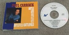 PAUL CARRACK CD SINGLE BATTLEFIELD
