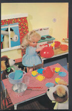 Children Postcard - Childs Toys - Dolls Fairy Tale Scene   U1502