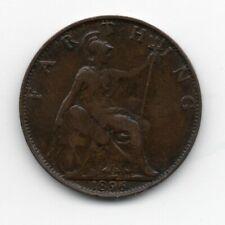 Great Britain - Engeland - 1 Farthing 1896
