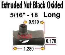 "(10) 5/16""-18"" Long Extruded /speed/ u Nut"
