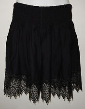 LADIES SHIRRED WAIST SHORTS  plus size 18  20  22   $14.00 BLACK NEW WITH TAGS
