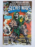 Marvel Super-Heroes Secret Wars #10 - Spider-Man Dr Doom Comics Newsstand NM