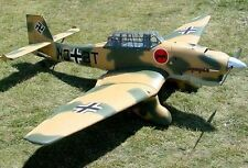 "1/5 Scale  STUKA -JU 87  100""    Giant   RC AIrplane Printed Plans & Templates"