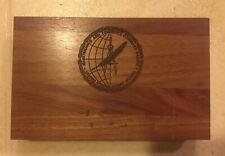 New listing Vintage Crestor U. S. Coast Guard Wood Tray Box