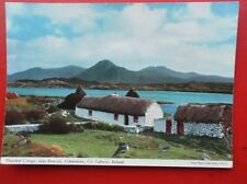 POSTCARD GALWAY RENVYLE CONNEMARS - THATCHED COTTAGE