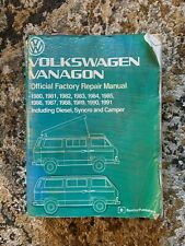 VW Transporter Vanagon Repair Manual Bentley