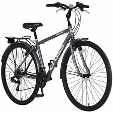 Cross Malvern 700c Hybrid Bike - Mens - Grey.