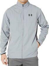 Under Armour UA SZ 3XL Mens Vital Woven Warm Up Full Zip Jacket Gray 1248454-035