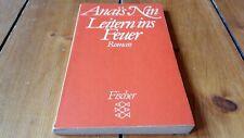 Anais Nin - Leitern ins Feuer (1982) Fischer Taschenbuch 5256 Roman Erotik Liebe