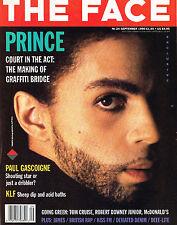 THE FACE September 1990 PRINCE Graffiti Bridge PAUL GASCOIGNE Kid Frost @EXCLT@