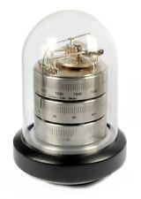 Desk Weather Station BARIGO Analog Barometer Thermometer Hygrometer Nickel Plated