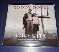 RORY & RITA by Roddy Doyle 3 CD audio book John Kavanagh factual Irish Insight