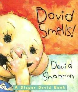 David Smells!: A Diaper David Book - Board book By Shannon, David - GOOD