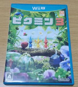 Pikmin 3 Nintendo Wii U Tested & Fully working Japanese ver