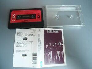 MC NENA - EISBECHER CBS 450267 4 Chrome Tape Musikkassette  Kassette RAR