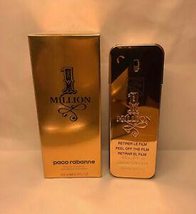 Paco Rabanne 1 Million Men's Eau de Toilette Spray - 3.4 oz New