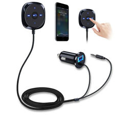 Wireless Bluetooth Audio Receiver Stereo Music Car Kit Adapter AUX USB Chargers